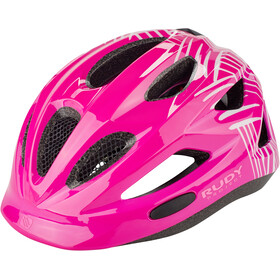 Rudy Project Rocky Helmet Kinder purple-white shiny